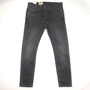 Levi's Mens 519 extreme skinny gray black jeans